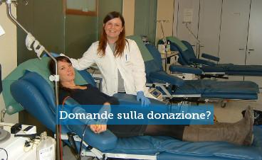Il medico risponde ai donatori
