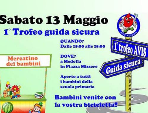 Avis Medolla, 1° trofeo guida sicura, dedicato ai bambini