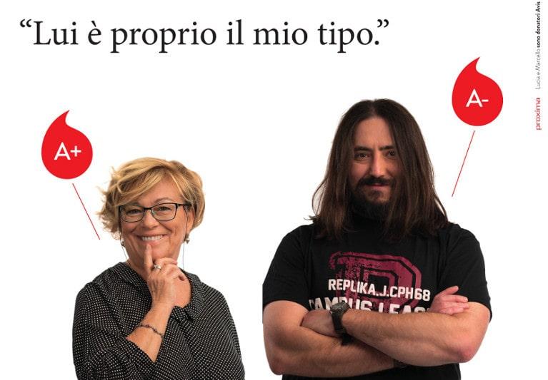 "Campagna Avis Modena ""ll tipo giusto"""