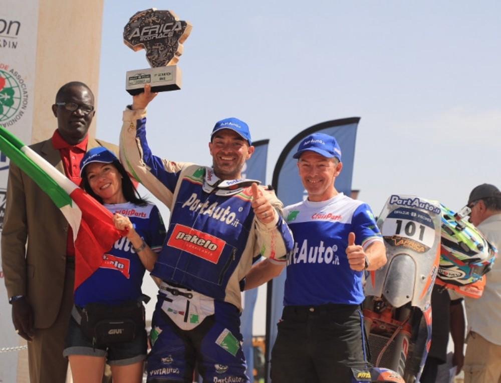 Paolo Ceci vince la decima edizione dell'Africa Eco Race