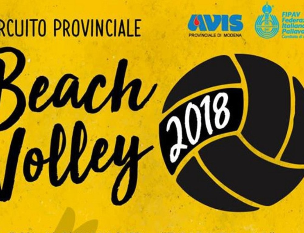 Circuito Provinciale di Beach Volley 2018