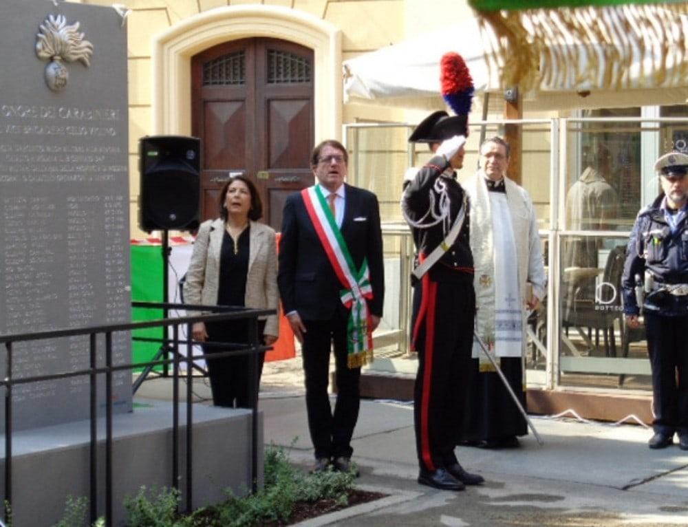 Modena, in memoria dei carabinieri caduti