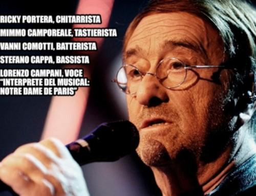 Vignola, concerto tributo a Lucio Dalla