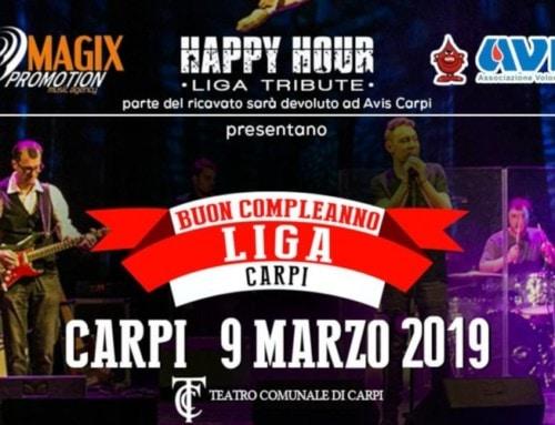 Carpi, Buon compleanno Liga 2019