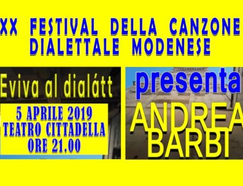 Modena, a teatro col dialetto