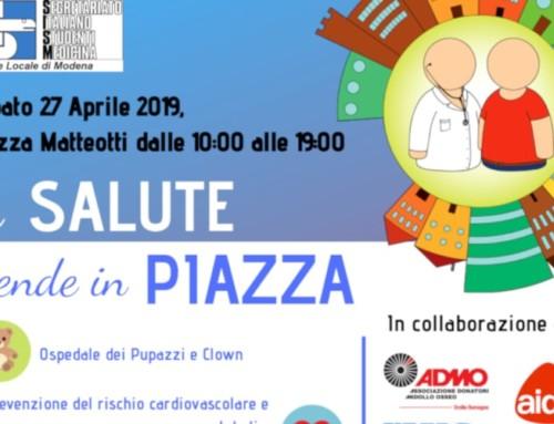 Modena, tutti in piazza per la salute