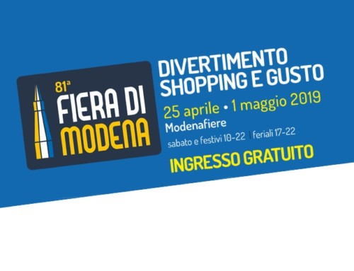 Fiera di Modena, noi ci siamo!