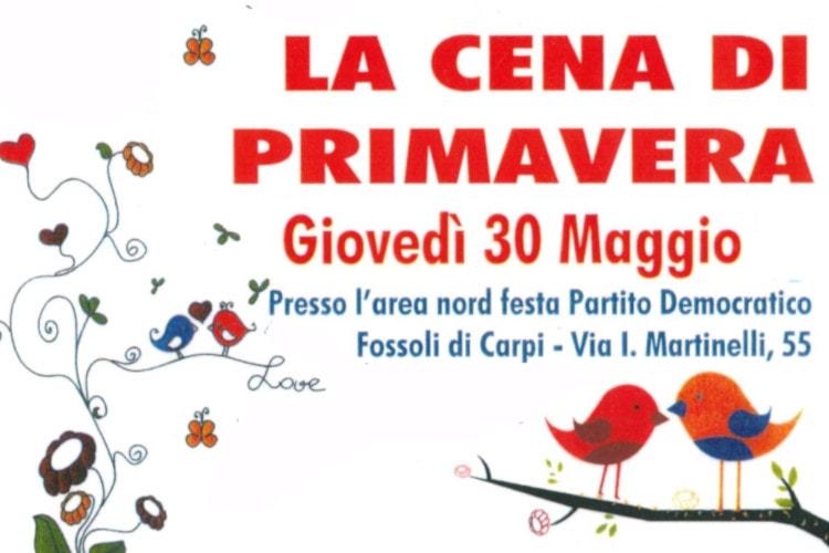 huge discount e2893 99abd 2019_05_30 Carpi cena di primavera - AVIS Provinciale Modena