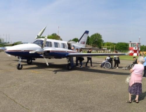 Modena, 33 abili passeggeri in volo!