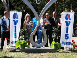 Inaugurazione scultura AVIS