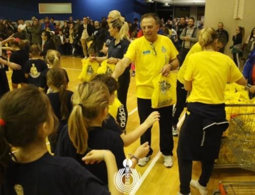 Volley S3, bambini in festa sotto rete