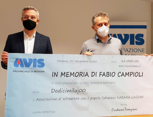 Una donazione per i Saharawi in memoria di Fabio Campioli