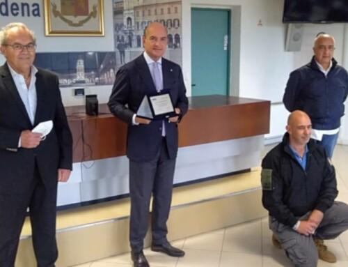 Il ringraziamento di Avis e dei poliziotti donatori di sangue al Questore Maurizio Agricola